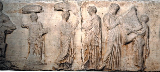 An image from the Parthenon Frieze