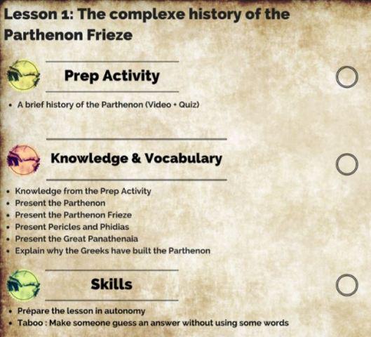 PDT Lesson 1