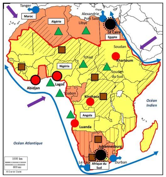 Capture Afrique Croquis