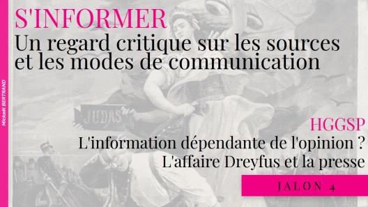 Jalon 4 - Affaire Dreyfus